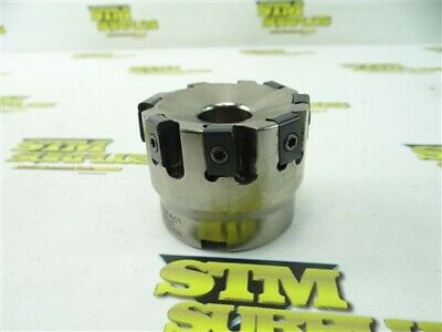 """Ntk Indexable Face Mill 2-1/2"""" Diameter 1"""" Mount Id Jxtm25In-88-8R"""
