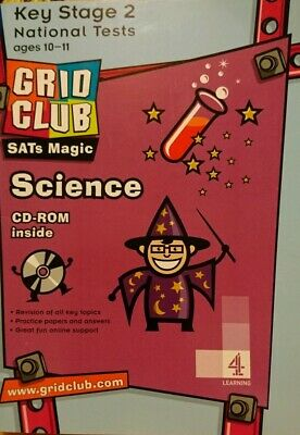 GRIDCLUB KS2 SATs Magic SCIENCE NATIONAL TESTS WITH CD ROM