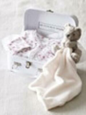 The White Company Little Baby Gift Set Box All Ages