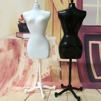 Adjustable Female Mannequin Torso Dress Form Display Clothing With Stand Rack
