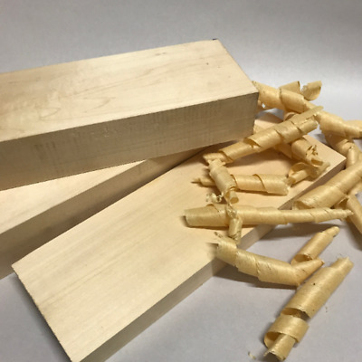 Basswood - Wood Carving Blank - 100 x 100 x 300mm