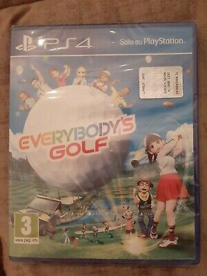 Everybody's Golf 7 Ps4 Gioco Playstation 4 Italiano Videogioco Nuovo Sigillato
