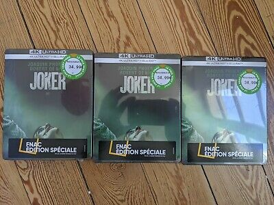 [RARE] Joker Steelbook FNAC Special Edition Blu-ray 4K (Sold Out)