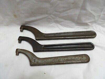 Assortment of USA made Pin Spanner Wrenches