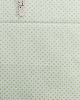 Light Green Polka Dots Print Cotton Quilting Fabric,Crafts,Jo-Ann Stores