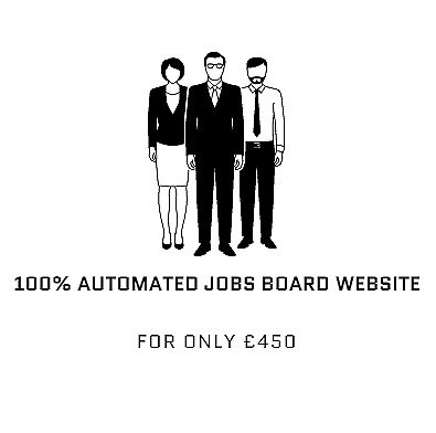 100% Automated Jobs Board website - Earn $500 - $3000 Monthly With Adsense