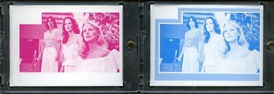 1977 Topps Charlies Angels Color Separation Proof Cards. #253