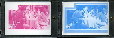 1977 Topps Charlies Angels Color Separation Proof Cards. #250