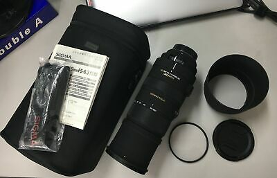 # Sigma APO 150-500mm F5-6.3 DG OS HSM for Nikon Plus UV