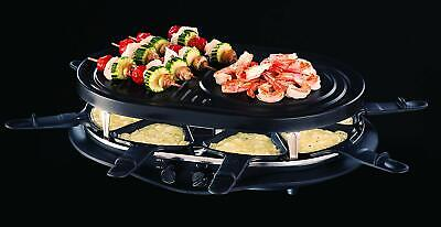 Russell Hobbs 21000-56 Appareil Raclette Multifonction Fiesta 1200W 8 Personnes,