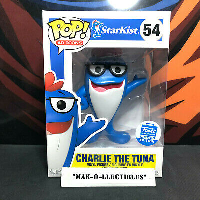 Funko Pop! Ad Icons Starkist Charlie The Tuna #54 Funko Shop Exclusive
