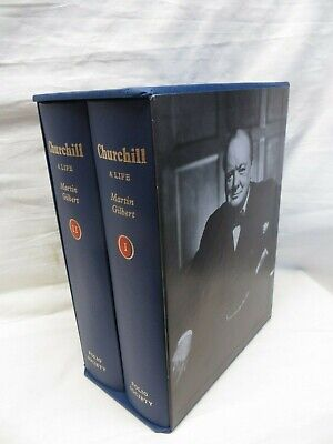 Churchill A Life By Martin Gilbert Volumes 1 And 2
