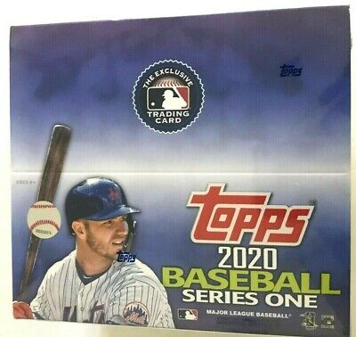 2020 Topps Series 1  Baseball Retail Box