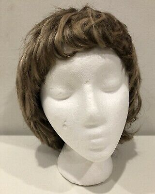 Women's Wig Color Brown With High Lites