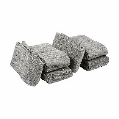 """Allen Company 52"""" Silicone-Treated Anti-Rust Knit Sock Gun Sleeve, Gray (6 Pack)"""