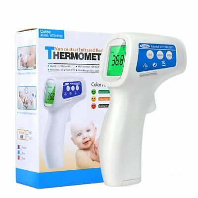 Non-contact body thermometer Forehead Digital Infrared Portable for Baby/Adult