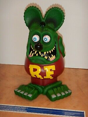 "Large - 13 Inches Tall - Funko Rat Fink, Vinyl - Ed ""Big Daddy"" Roth, New"