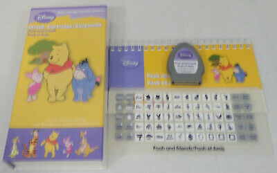 Cricut Cartridge DISNEY Pooh and Friends Complete with Box Loaded 29-0535