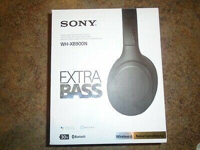Sony WH-XB900N Wireless Noise Canceling Extra Bass Headphones