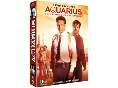 Serie TV - Box - Aquarius (2015), Temporada 1 Y 2 - 6 DVD