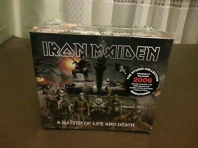Iron Maiden - A matter of life and death (BOXED CD + PATCH + EDDIE FIGURE SEALD)