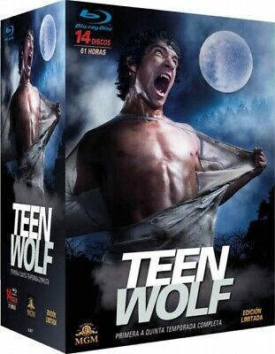 Serie TV -TEEN WOLF - Temporada 1 a 5 -Blu-ray,  61 horas, 14 discos