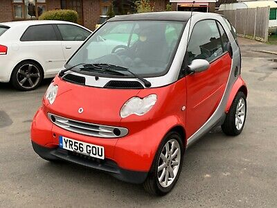 2006 Smart Fortwo City Passion 0.7 Turbo Softtouch 52k 12mths MOT Red