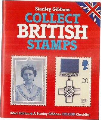 COLLECT BRITISH STAMPS, 42nd edition 1990   a Stanley Gibbons book 112 pages