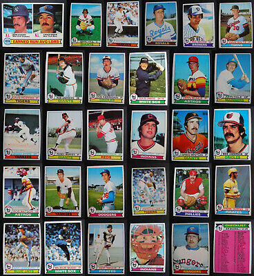 1979 Topps Baseball Cards Complete Your Set U You Pick From List  7-250 VG/EX