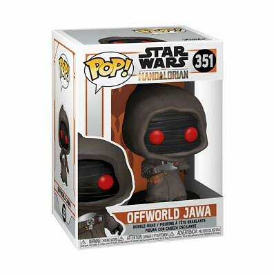 Pop! Star Wars The Mandalorian Offworld Jawa #351 Vinyl Figure Funko