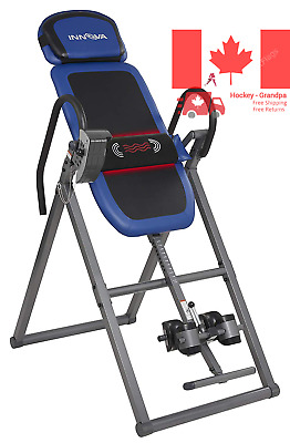 Inversion Therapy Table Multi Mode Massage Settings with Adjustable Lumbar Pad