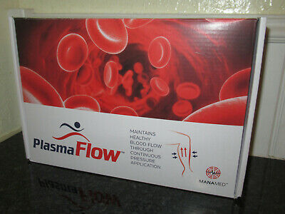 Manamed Plasma Flow Deep Vein Thrombosis DVT Prevention Compression Device NEW