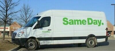 UK WIDE courier service GUARANTEED SAMEDAY man with a van removals INSURED