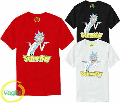 Inspired Top Get Schwifty T-Shirt Rick and Morty T-Shirt RMGSF