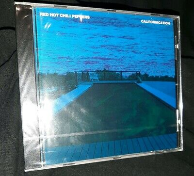 Red Hot Chili Peppers - Californication CD Printing Colour Error Blue RARE 1999