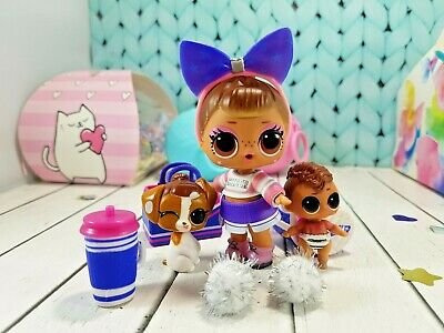 LOL CHEER FAMILY original rare dolls surprise ЕYЕ SРY MAKEOVER series LIL doll