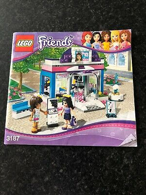 Lego Friends Butterfly Shop 3187 All Complete and No Box