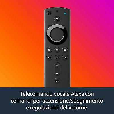 Fire TV Stick Con Telecomando Vocale Alexa Lettore Multimediale Digitale Generaz