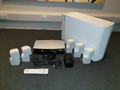 Bose Lifestyle 48 - Home Cinema System. White. Good condition. Bose dealer.