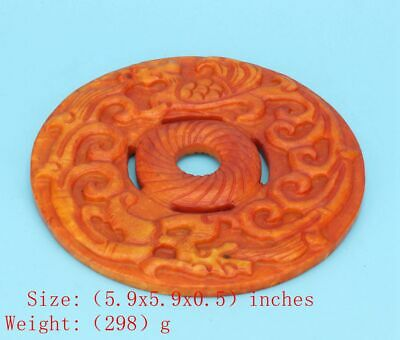 Precious Chinese Jade Pendant Board Hand-Carved Decorative Arts Crafts Gifts