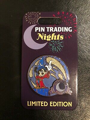 New Disney Fantasia Sorcerer Mickey Pin Trading Nights Pin PTN 2020 Mickey Mouse