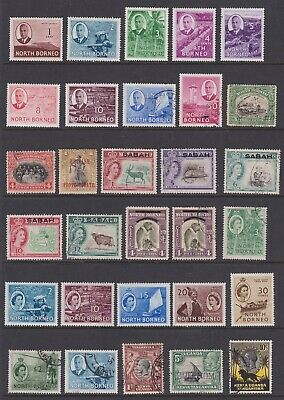 BRITISH COMMONWEALTH - VERY NICE LOT 0F 157 x MINT AND USED STAMPS