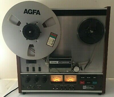 Vintage TEAC A-3300SX  2T Reel To Reel Recorder. Working Good, Tested