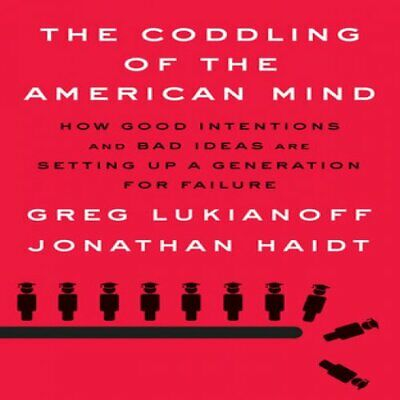 The Coddling of the American Mind - Greg Lukianoff,ЕВ00К,high quality copy,