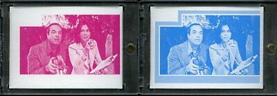 1977 Topps Charlies Angels Color Separation Proof Cards. #241