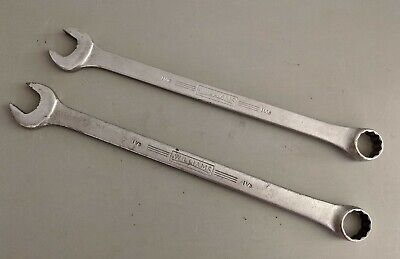 Pair of Williams 1172 & 1172 Superrenchs Combo Wrench, 12 Point USA