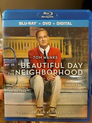 A BEAUTIFUL DAY IN THE NEIGHBORHOOD BLU-RAY DVD Digital Copy