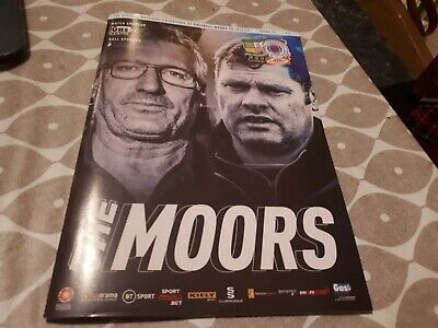 Solihull Moors v Rangers Colts- 29 Oct 2019- Challenge Cup- Programme