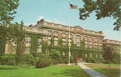 New Paltz NY Main Building State University College Eductation Postcard #y6606