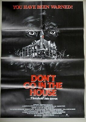 L90 Filmplakat DON'T GO IN THE HOUSE